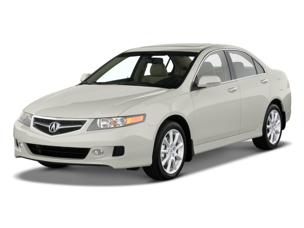 image 2008 acura tsx 4 door sedan auto angular front. Black Bedroom Furniture Sets. Home Design Ideas