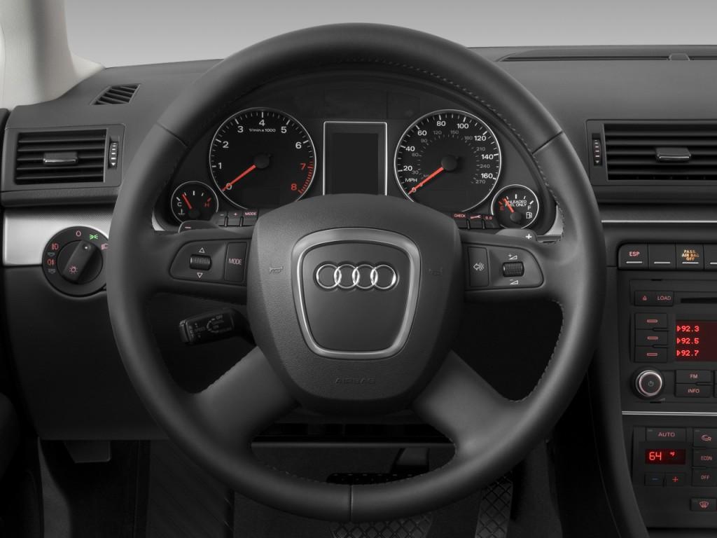 image 2008 audi a4 5dr wagon auto 2 0t quattro steering wheel size 1024 x 768 type gif. Black Bedroom Furniture Sets. Home Design Ideas