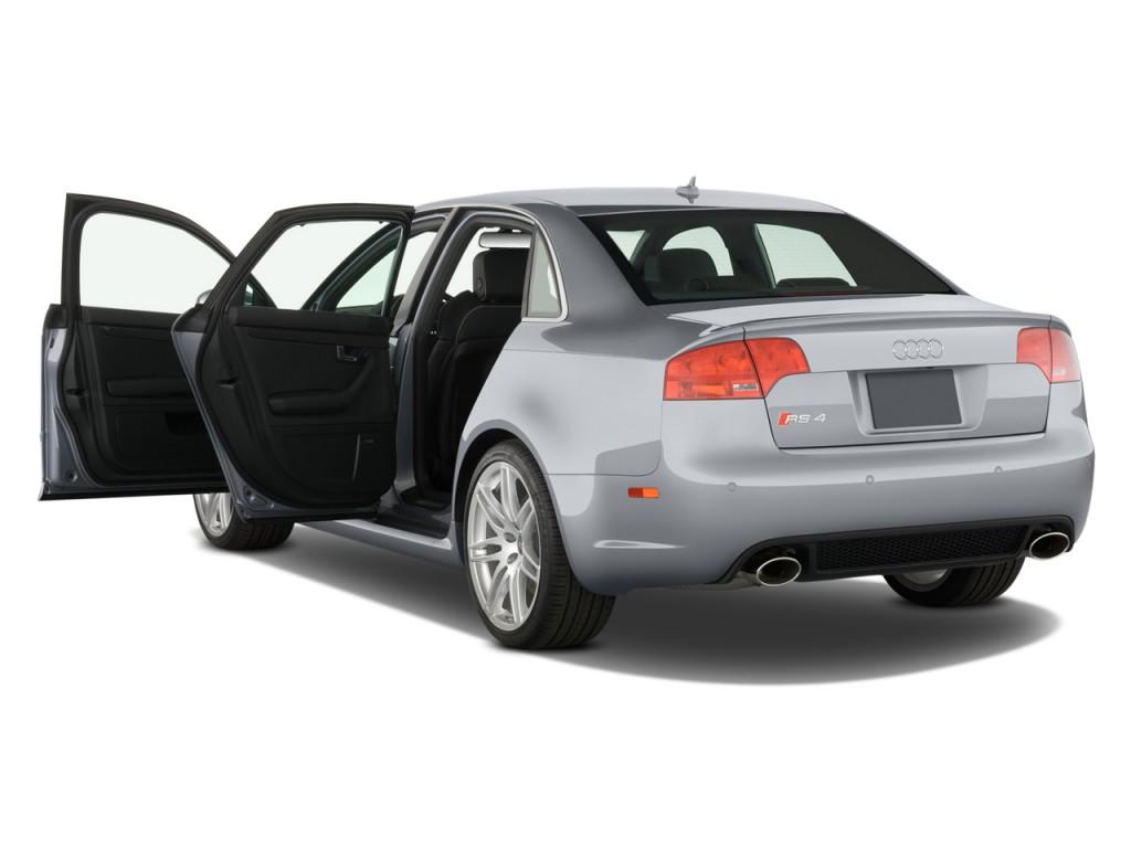 Image 2008 Audi Rs 4 4 Door Sedan Open Doors Size 1024