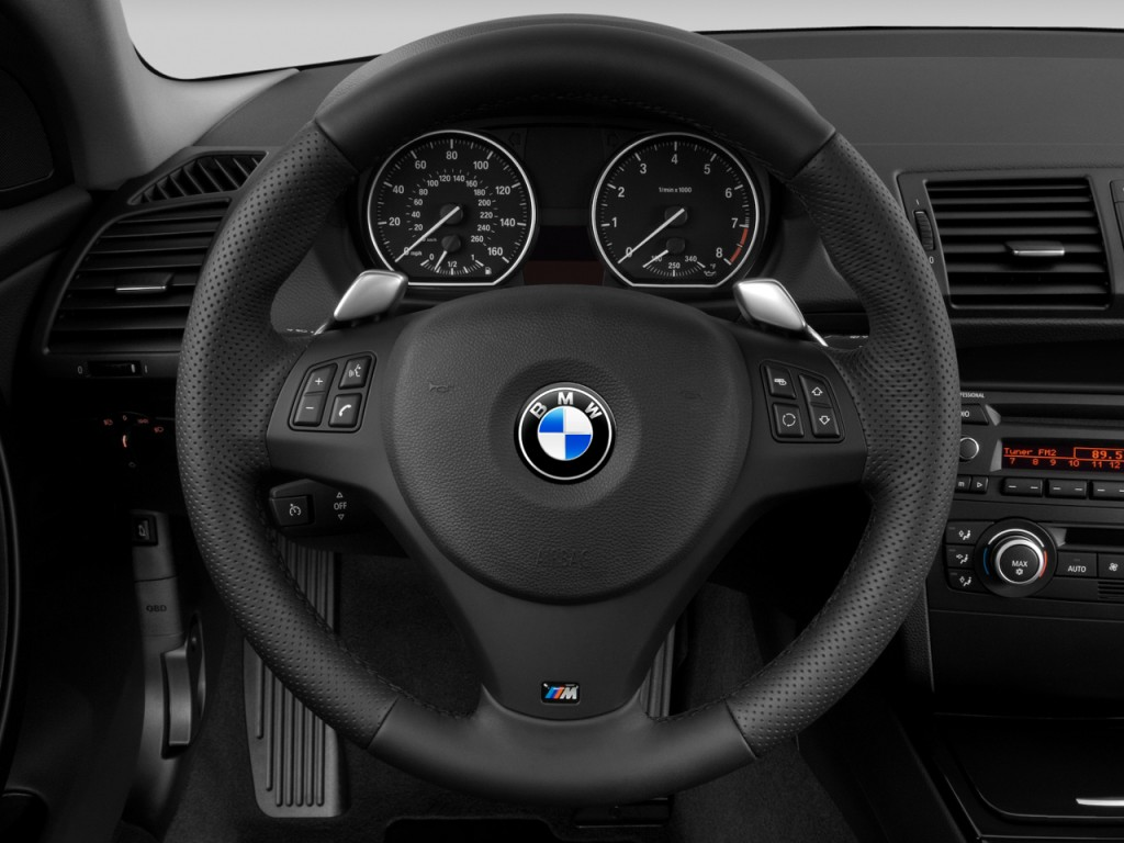 Image 2008 Bmw 1 Series 2 Door Coupe 135i Steering Wheel