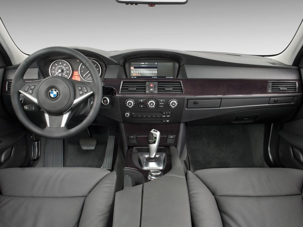 Image 2008 Bmw 5 Series 4 Door Sedan 528i Rwd Dashboard