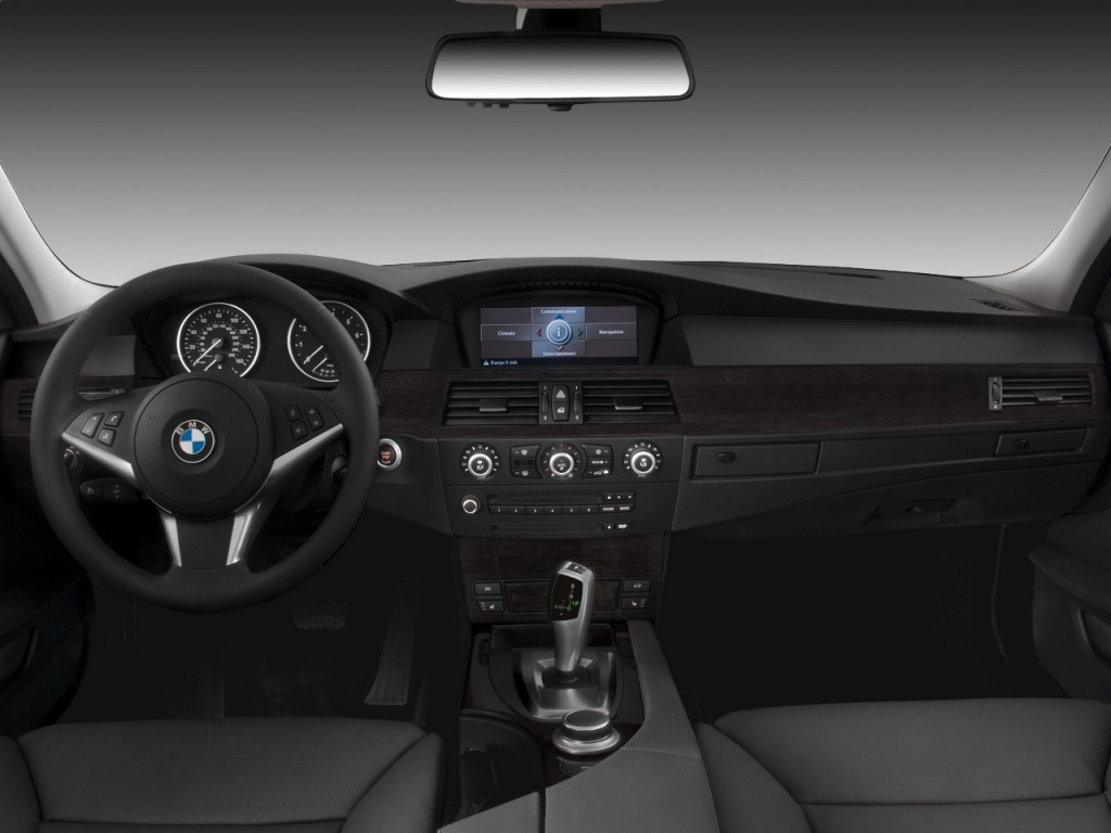 Image: 2008 BMW 5-Series 4-door Sports Wagon 535xiT AWD Dashboard, size: 1024 x 768, type: gif ...
