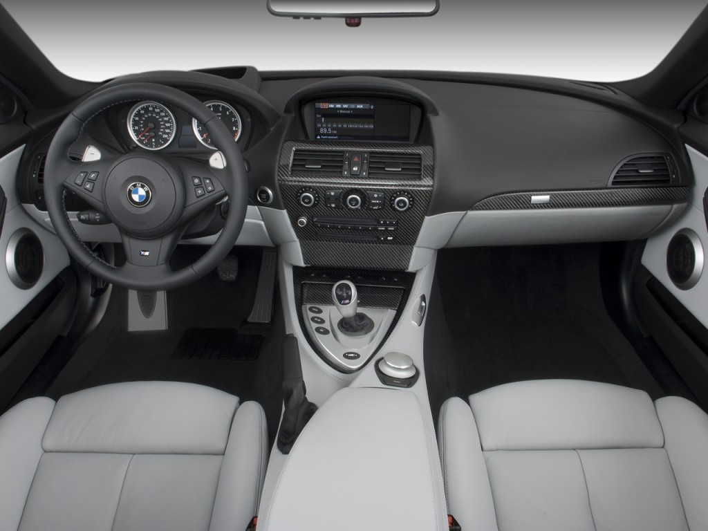 Image 2008 Bmw 6 Series 2 Door Convertible M6 Dashboard