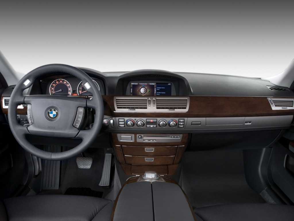 2006 Bmw 750i >> Image: 2008 BMW 7-Series 4-door Sedan 750i Dashboard, size: 1024 x 768, type: gif, posted on ...