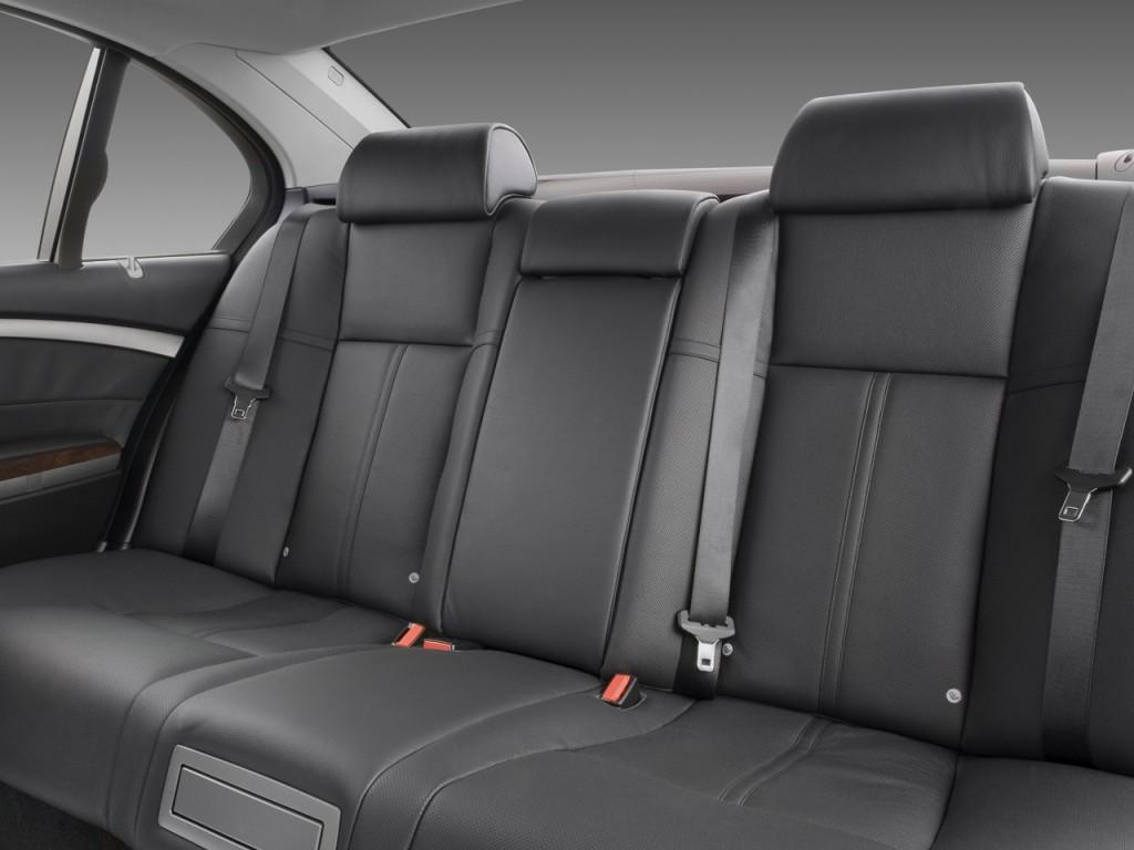 Image 2008 Bmw 7 Series 4 Door Sedan 750li Rear Seats