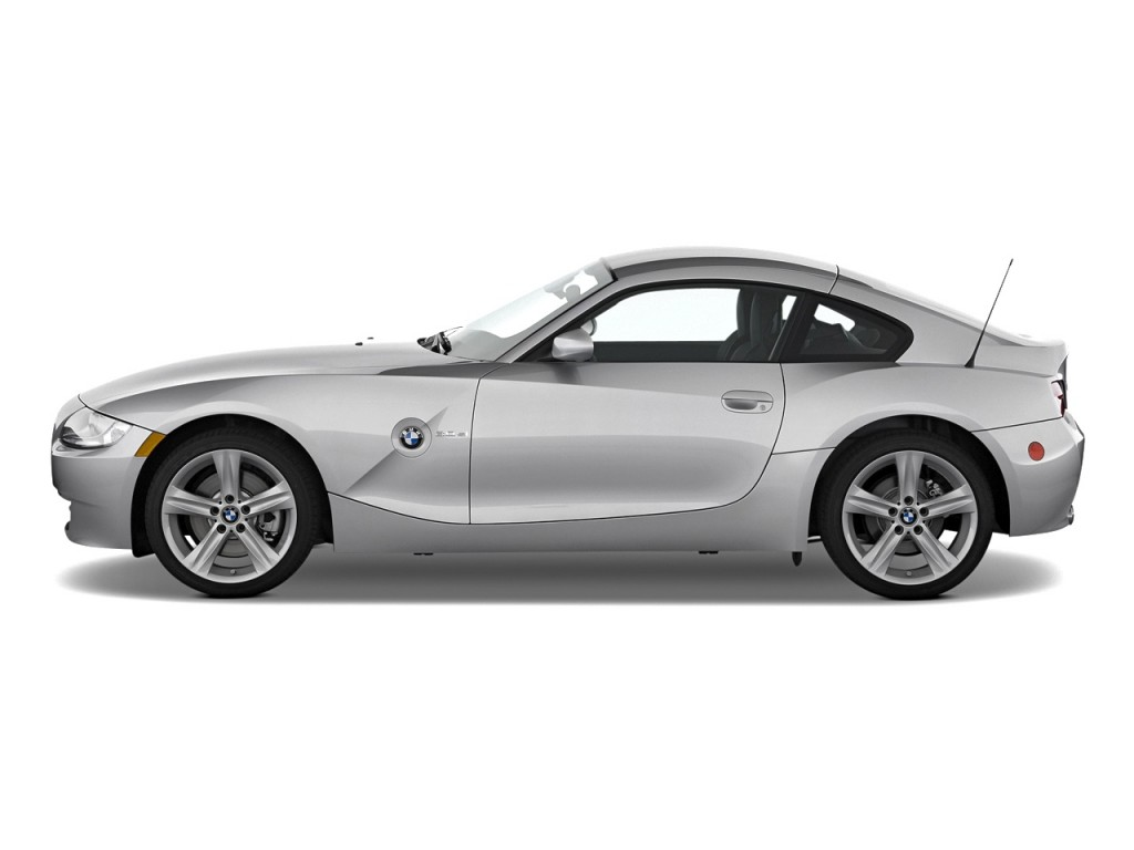 Image 2008 Bmw Z4 Series 2 Door Coupe 3 0si Side Exterior