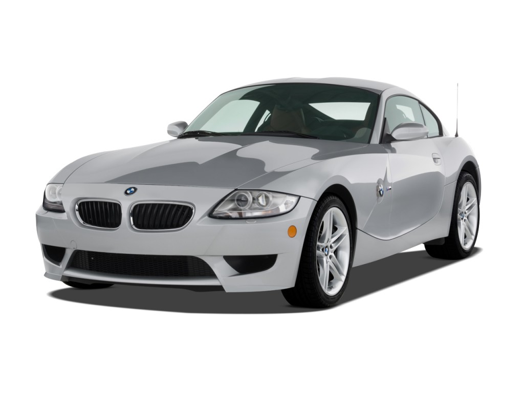 Image 2008 Bmw Z4 Series 2 Door Coupe M Angular Front