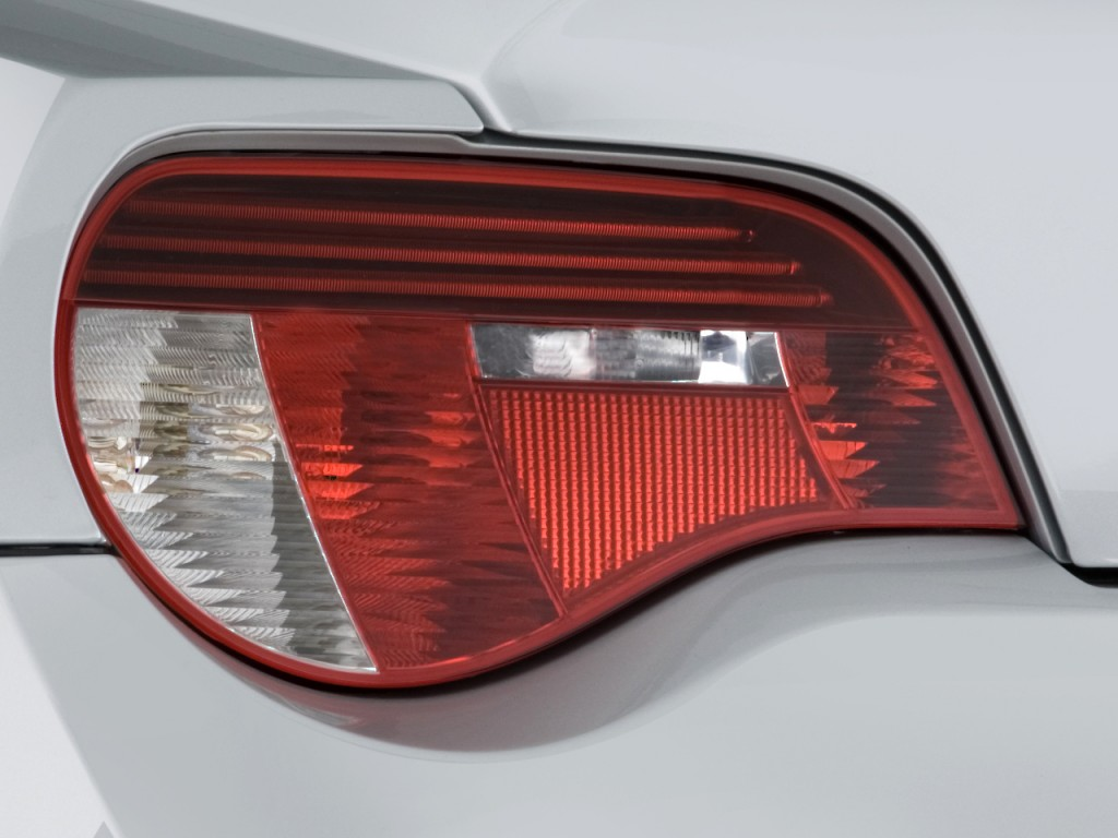 Image 2008 Bmw Z4 Series 2 Door Coupe M Tail Light Size