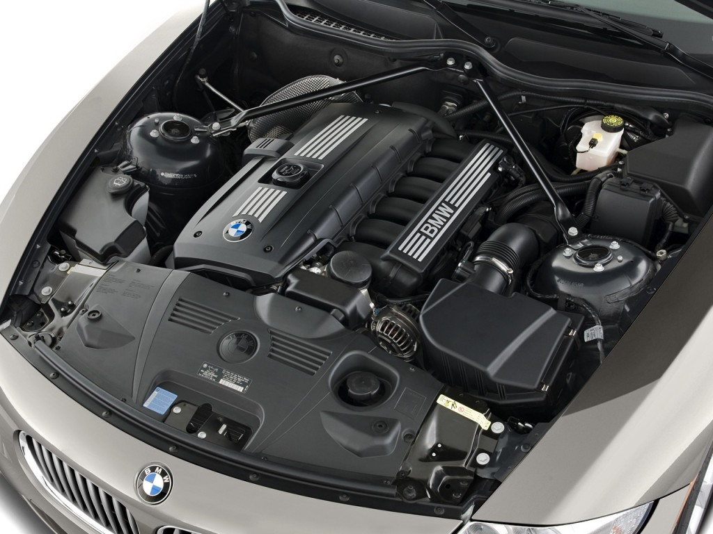Image 2008 Bmw Z4 Series 2 Door Roadster 3 0si Engine