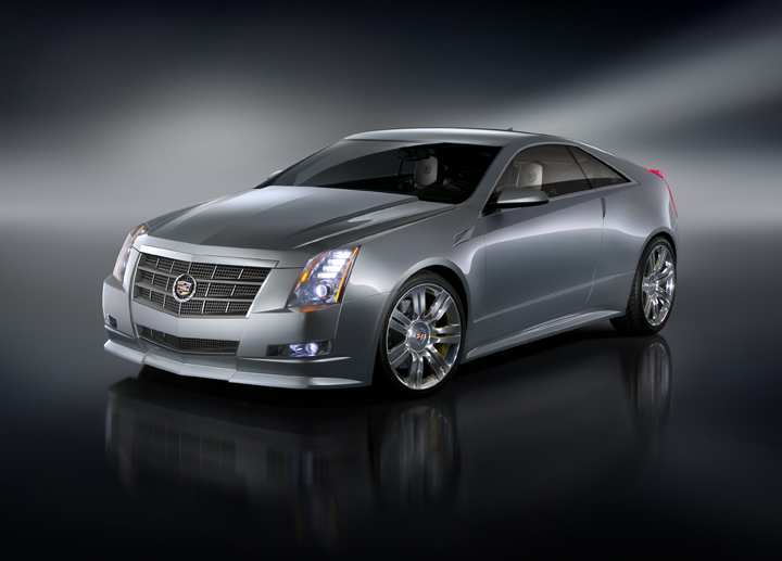 2010 Cadillac CTS Coupe Heading to L.A. Show