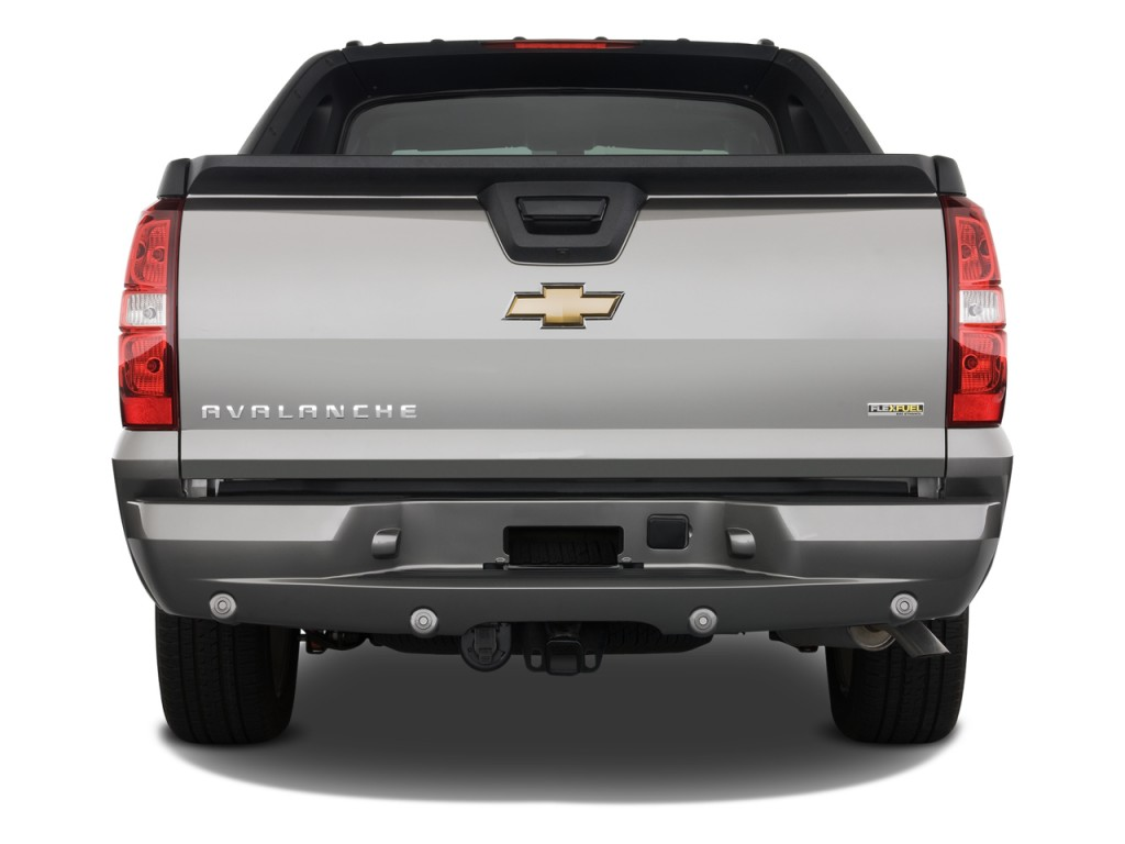 image 2008 chevrolet avalanche 2wd crew cab 130 ltz rear. Black Bedroom Furniture Sets. Home Design Ideas