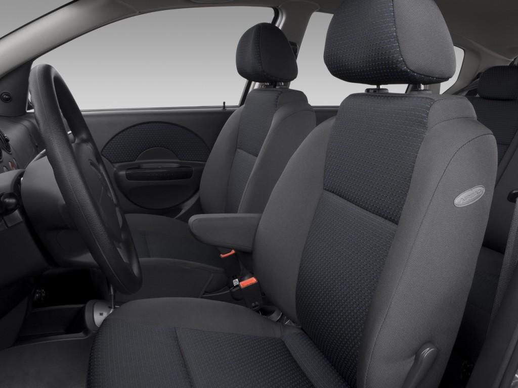 Chevrolet Aveo Dr Hb Ls Front Seats L