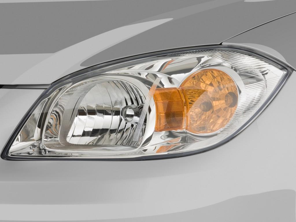 Image: 2008 Chevrolet Cobalt 2-door Coupe LT Headlight ...