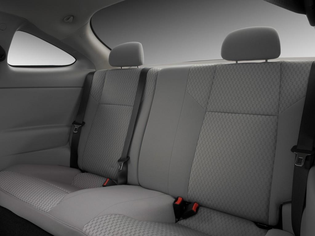 image 2008 chevrolet cobalt 2 door coupe lt rear seats. Black Bedroom Furniture Sets. Home Design Ideas