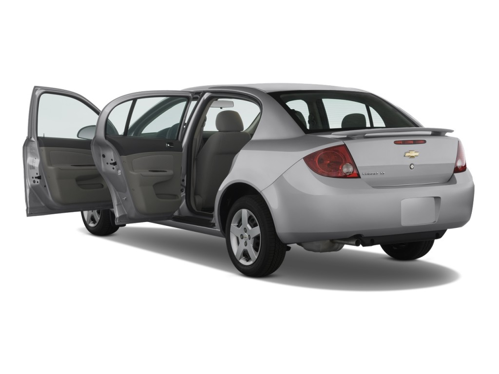 image 2008 chevrolet cobalt 4 door sedan ls open doors. Black Bedroom Furniture Sets. Home Design Ideas