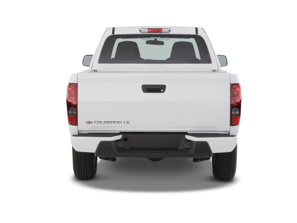 "Image 2008 Chevrolet Colorado 2WD Ext Cab 125 9"" LS Rear Exterior View, size 1024 x 768, type"