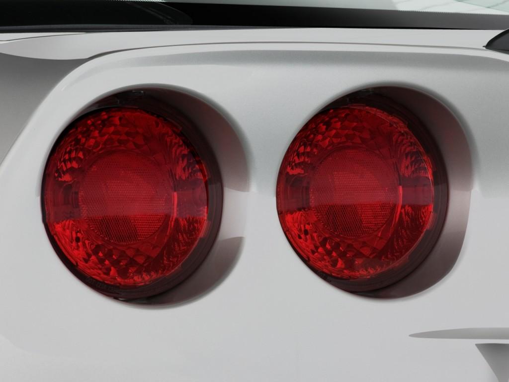 Image 2008 Chevrolet Corvette 2 Door Coupe Z06 Tail Light