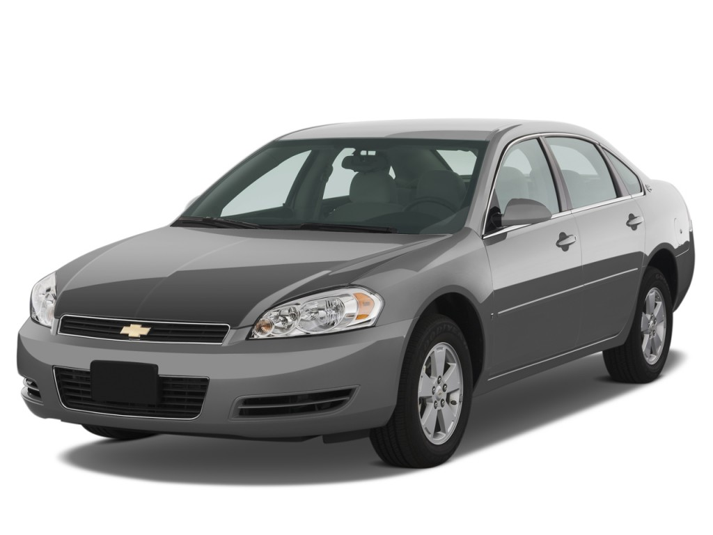 Image 2008 Chevrolet Impala 4 Door Sedan 3 5l Lt Angular