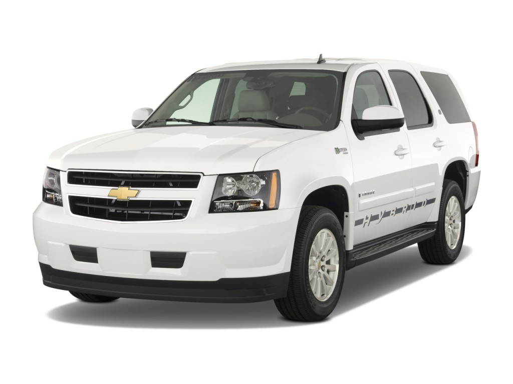 image 2008 chevrolet tahoe hybrid 2wd 4 door angular. Black Bedroom Furniture Sets. Home Design Ideas