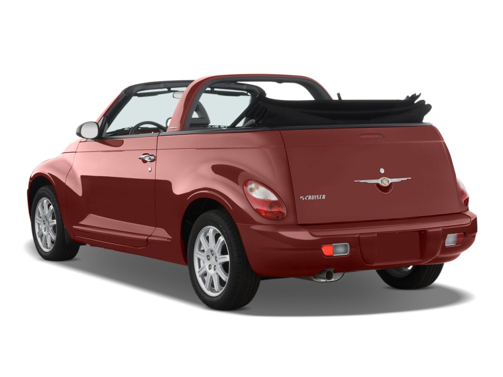 image 2008 chrysler pt cruiser 2 door convertible angular rear exterior view size 1024 x 768. Black Bedroom Furniture Sets. Home Design Ideas