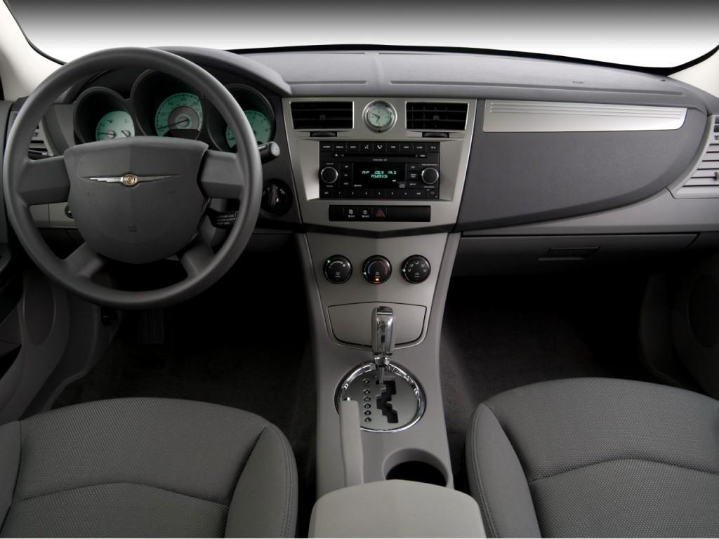 Chrysler Sebring Door Sedan Limited Fwd Dashboard L