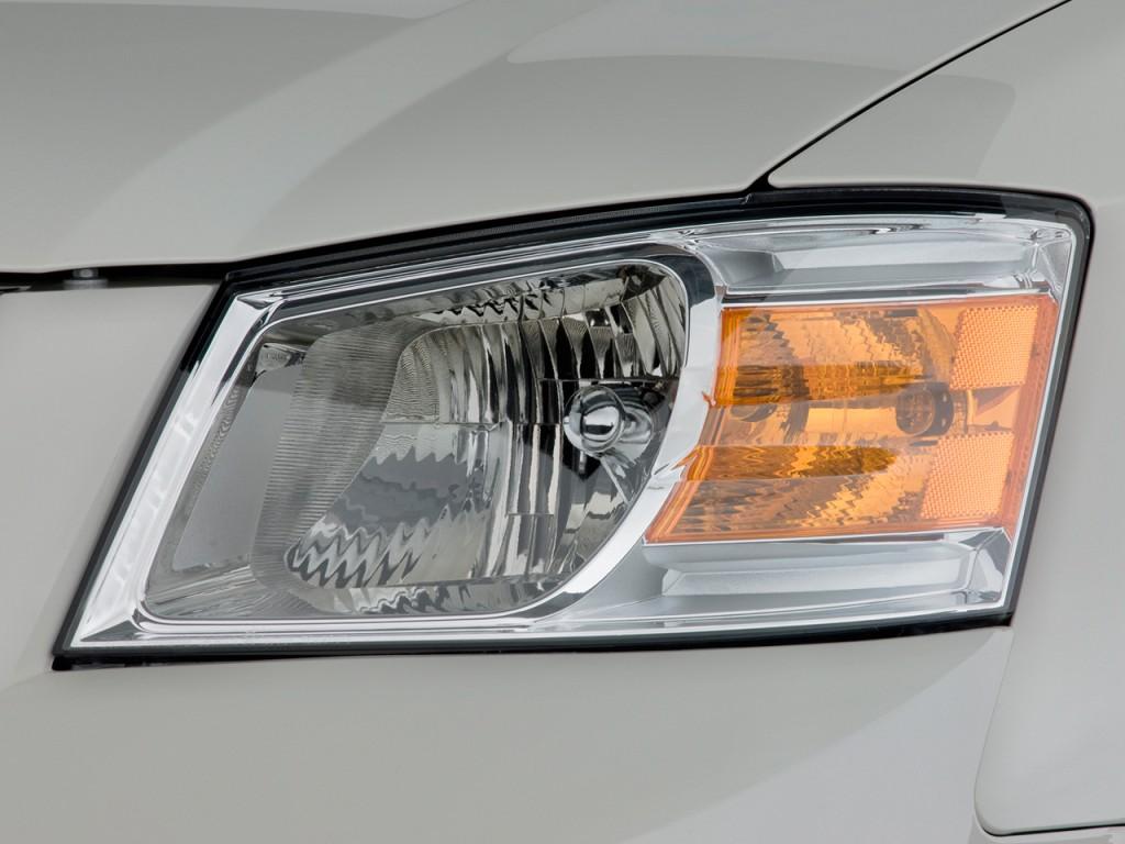 Image 2008 Dodge Grand Caravan 4 Door Wagon Sxt Headlight