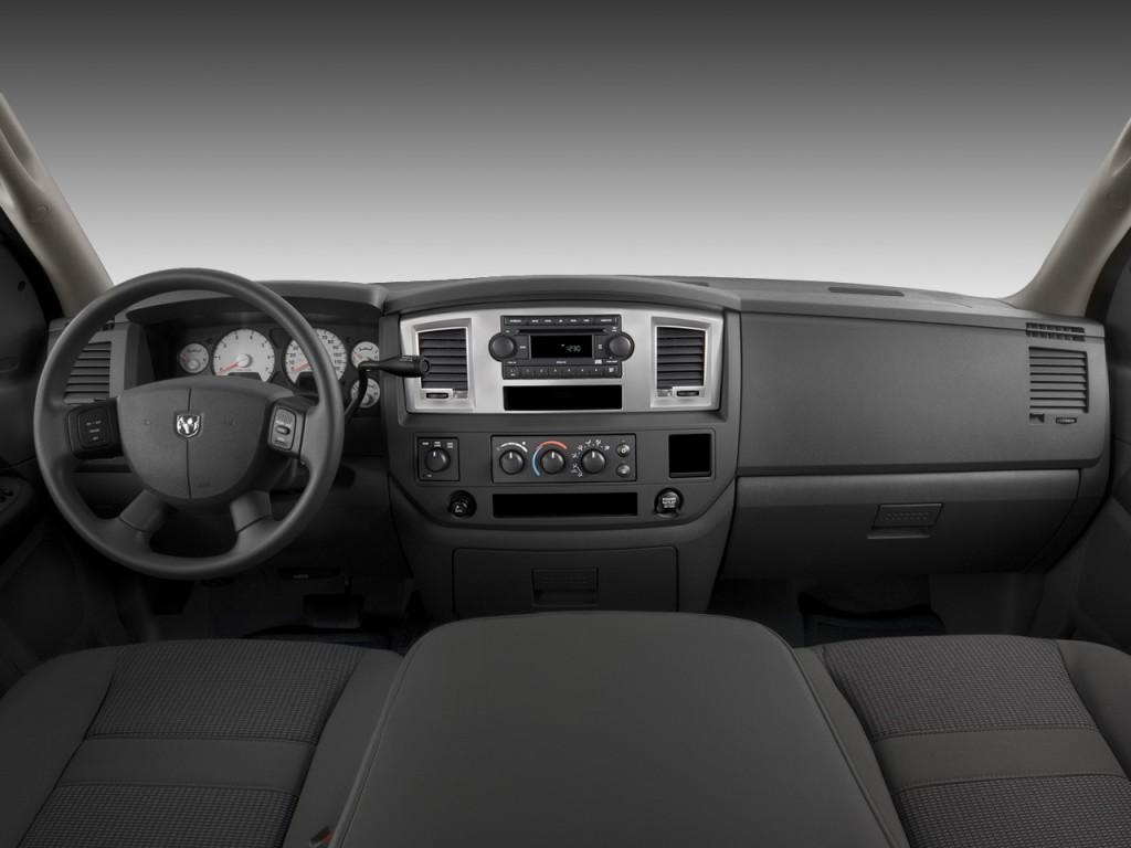 Image  2008 Dodge Ram 1500 4wd Quad Cab 140 5 U0026quot  Slt