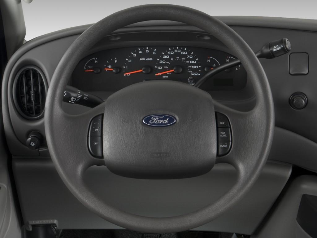 Mini Van Steering Wheel : Image ford econoline cargo van e commercial