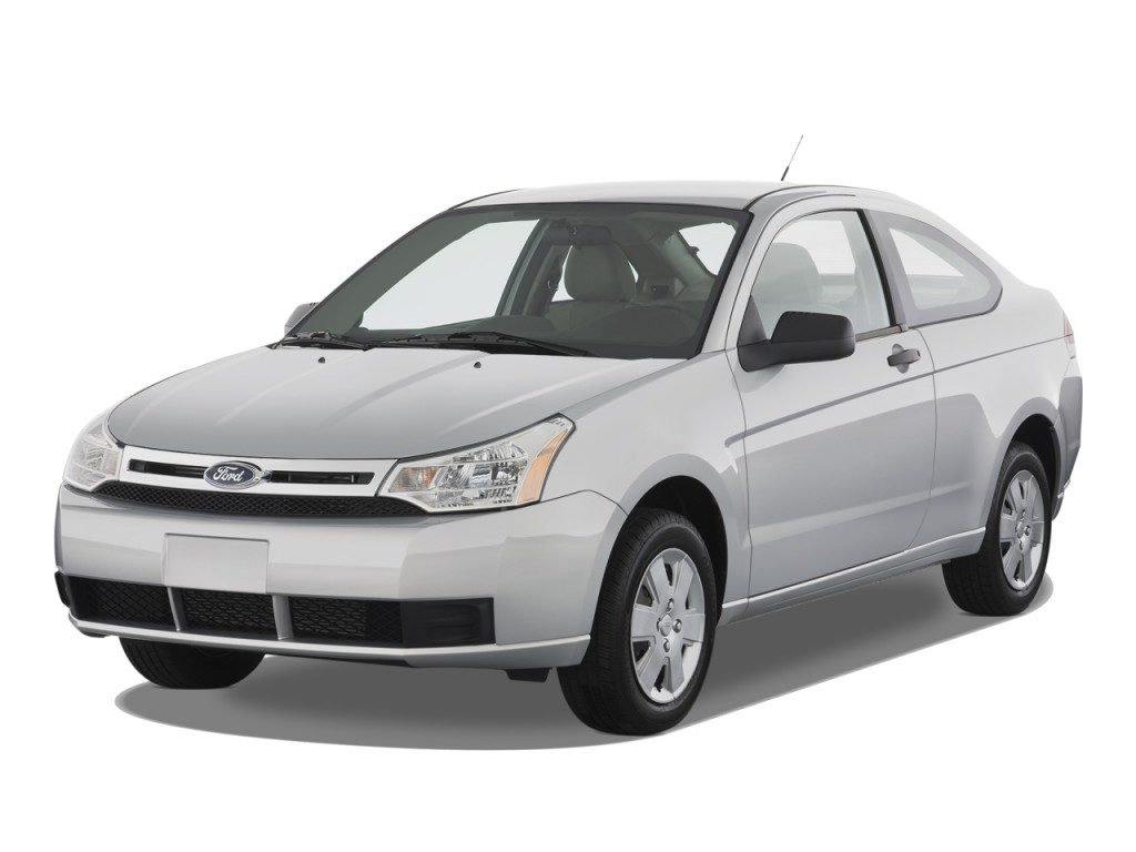Image 2008 Ford Focus 2door Coupe S Angular Front Exterior View