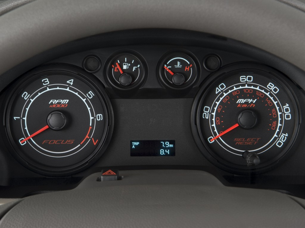 Image 2008 Ford Focus 2door Coupe S Instrument Cluster size
