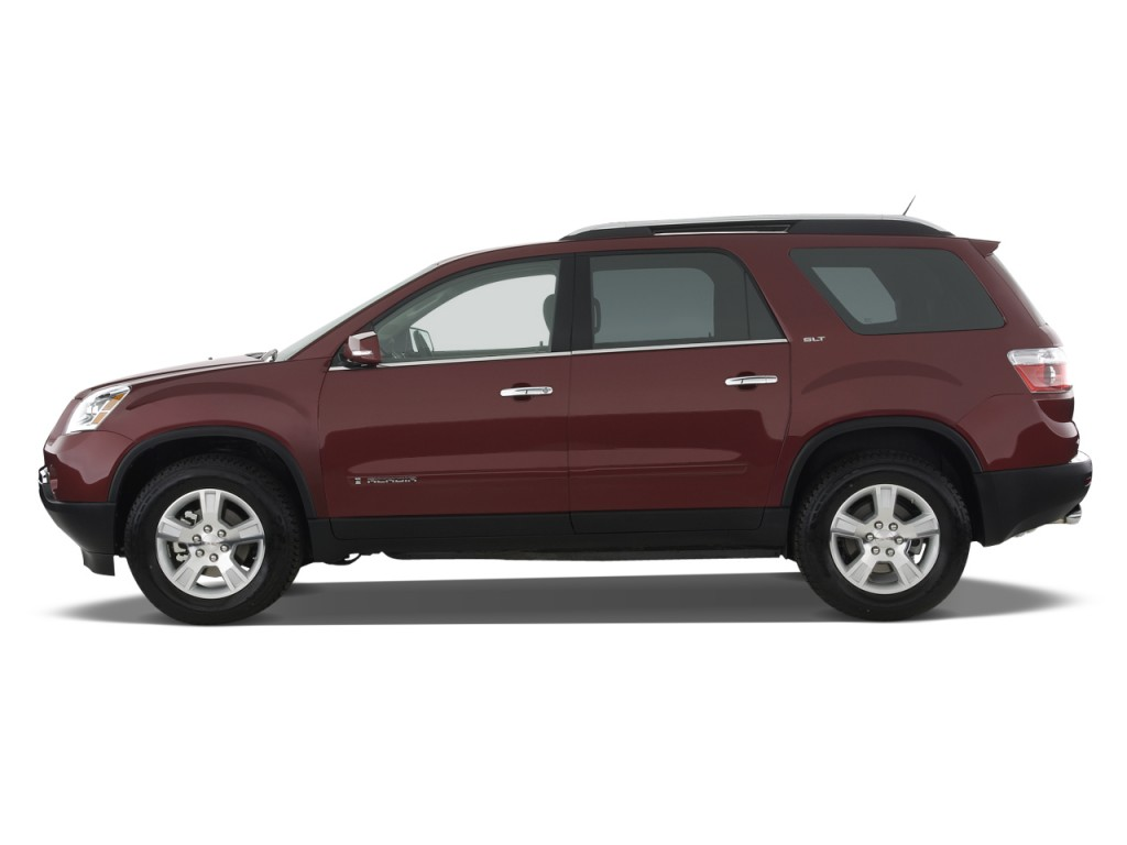 Image 2008 Gmc Acadia Fwd 4 Door Slt1 Side Exterior View