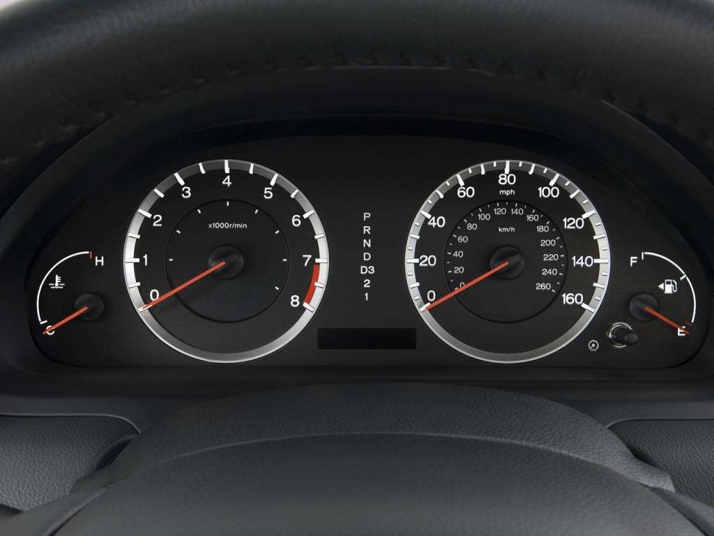 Image 2008 Honda Accord Coupe 2door I4 Auto EXL Instrument