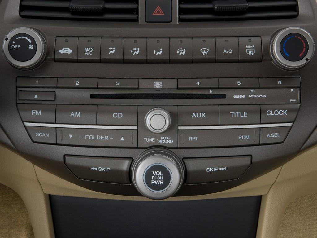 image 2008 honda accord sedan 4 door i4 auto lx audio. Black Bedroom Furniture Sets. Home Design Ideas