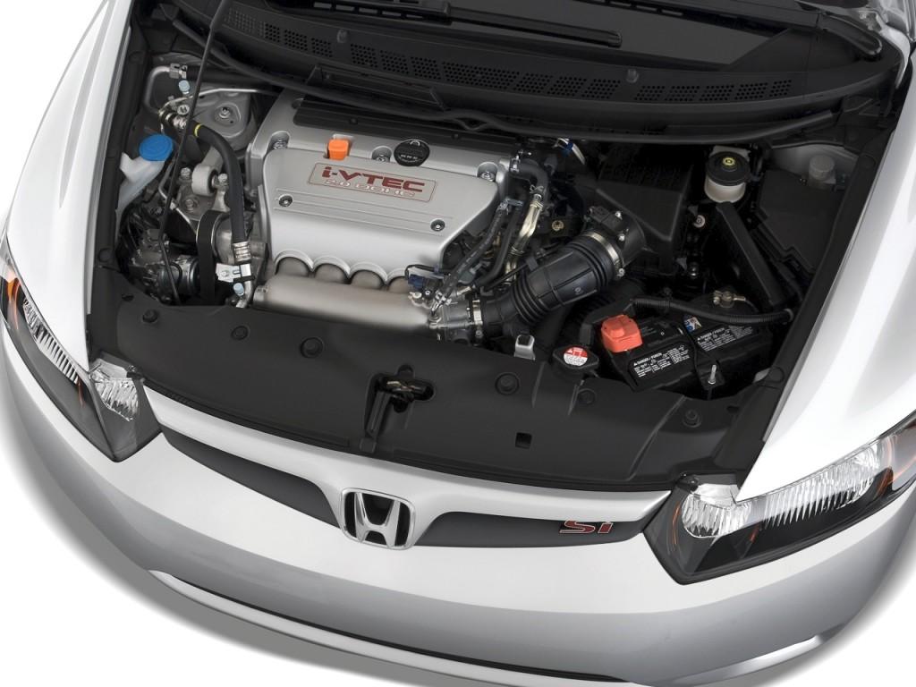 Image 2008 honda civic coupe 2 door man si engine size for 08 honda civic 2 door
