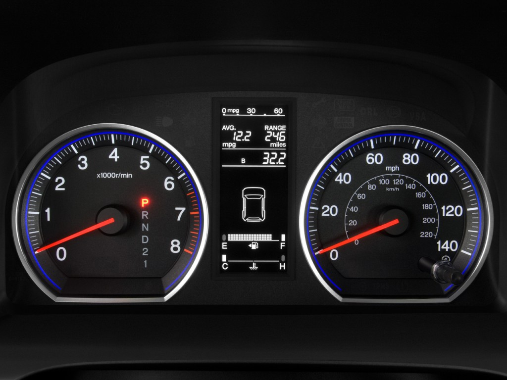 Image 2008 Honda Cr V 2wd 5dr Lx Instrument Cluster Size 1024 X 768 Type Gif Posted On