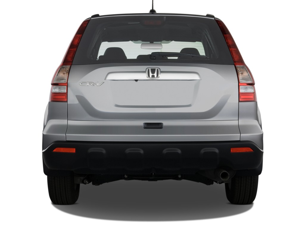Image 2008 Honda Cr V 4wd 5dr Ex L W Navi Rear Exterior View Size 1024 X 768 Type Gif