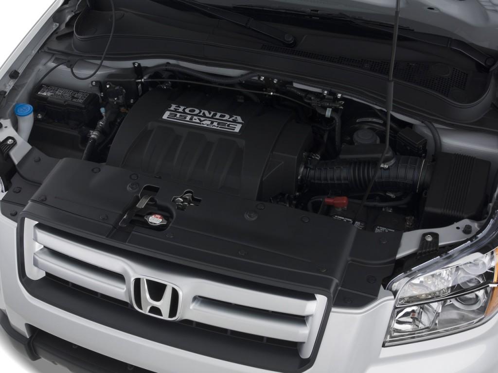 Image 2008 Honda Pilot 2wd 4 Door Ex L W Navi Engine