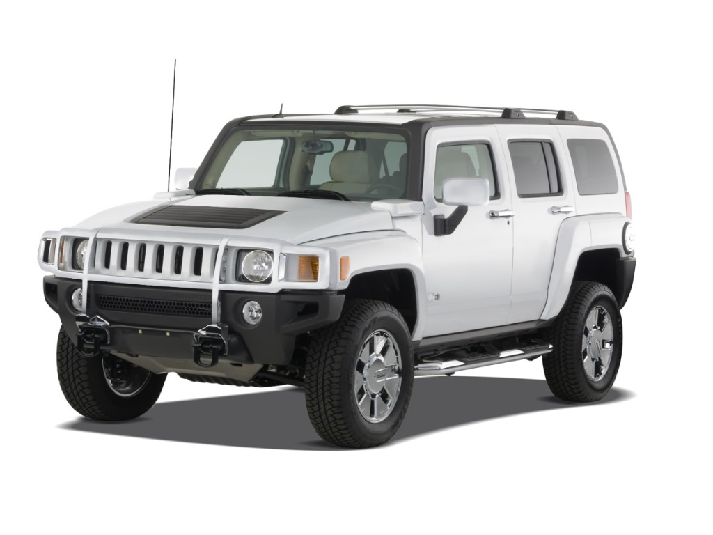 2008 HUMMER H3 4WD 4-door SUV H3X Angular Front Exterior View