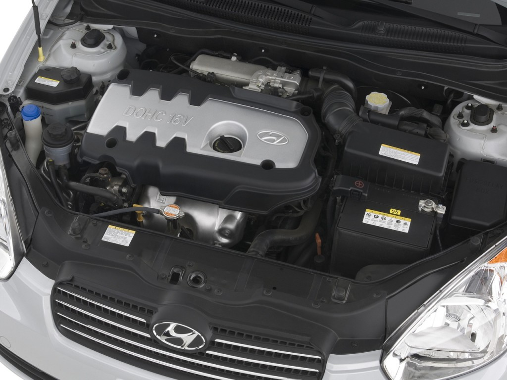 Image 2008 Hyundai Accent 4 Door Sedan Auto Gls Engine