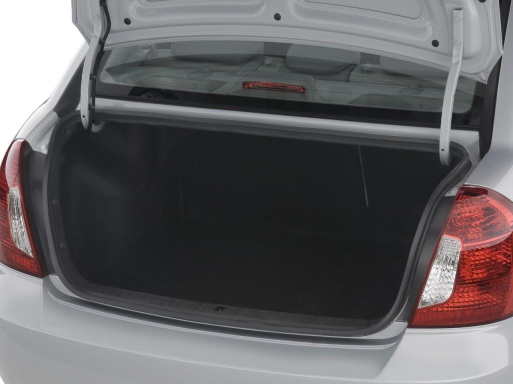 Image 2008 Hyundai Accent 4 Door Sedan Auto Gls Trunk