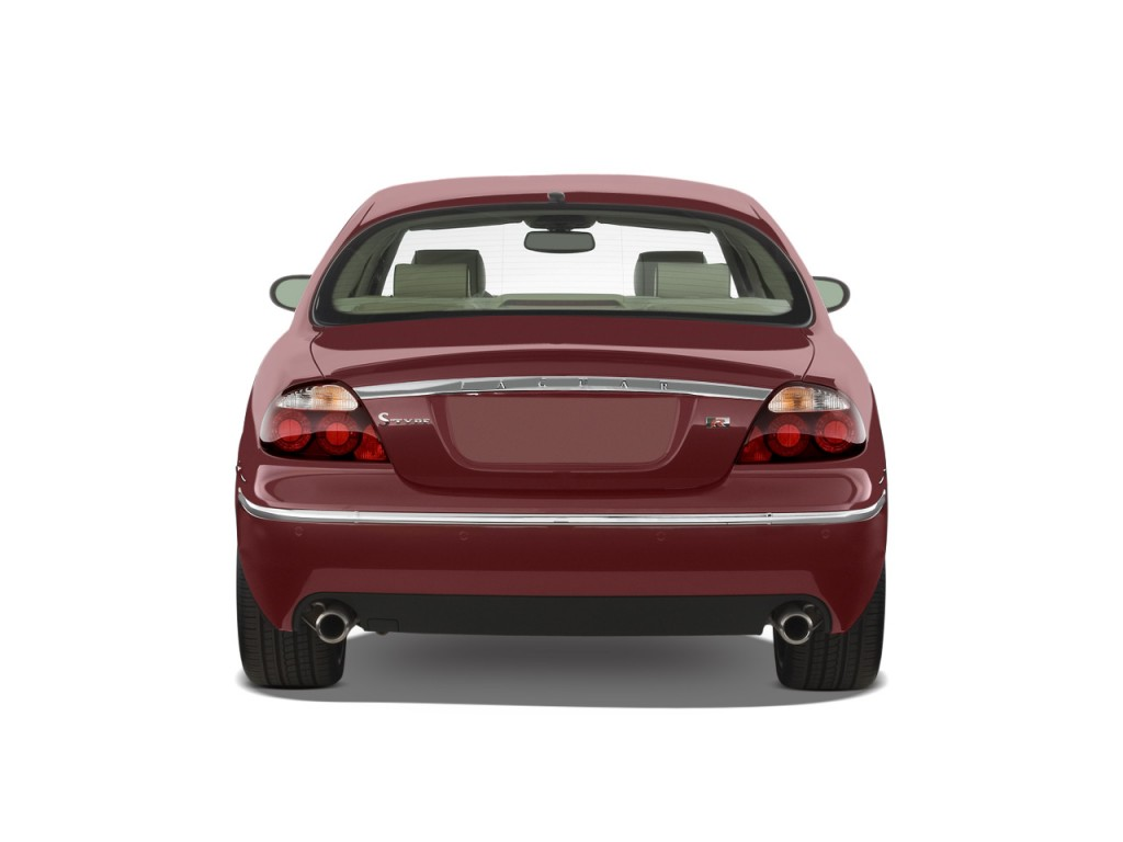 Image 2008 Jaguar S Type 4 Door Sedan R Rear Exterior View Size 1024 X 768 Type Gif Posted