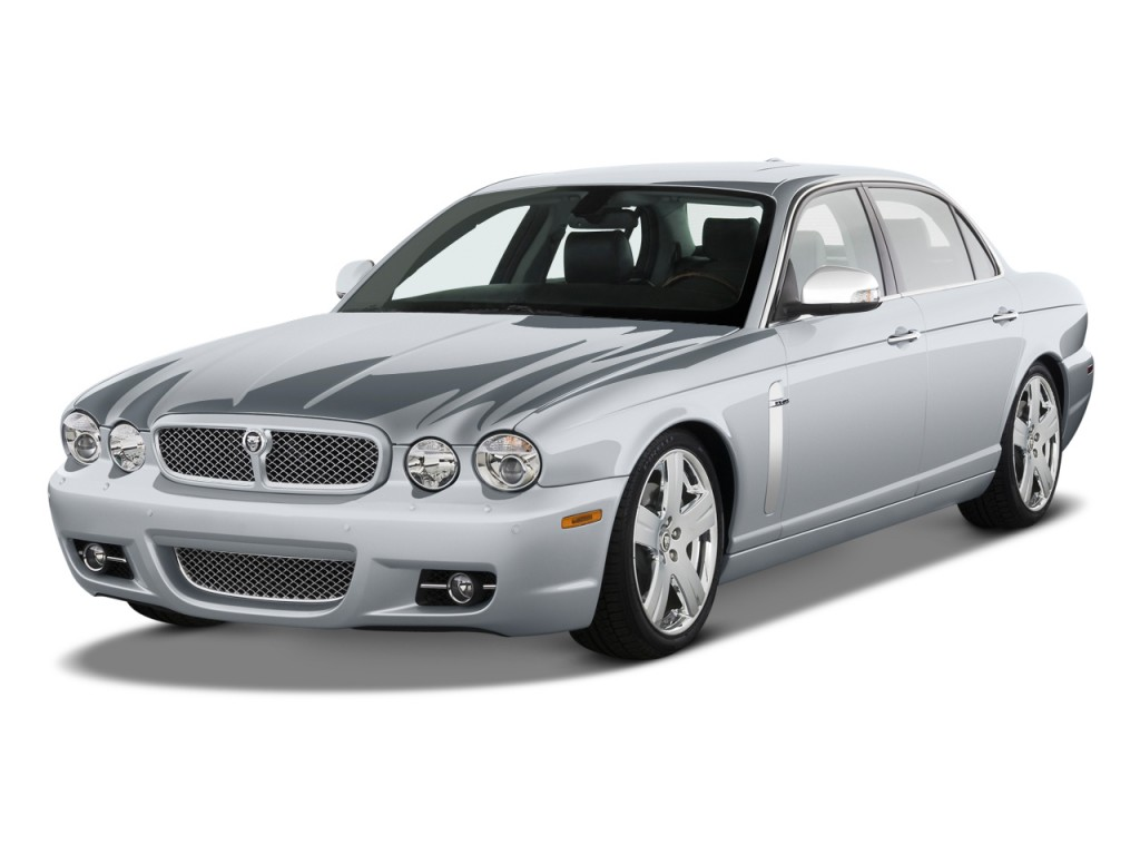 Image 2008 jaguar xj 4 door sedan vanden plas angular for Jaguar xj exterior