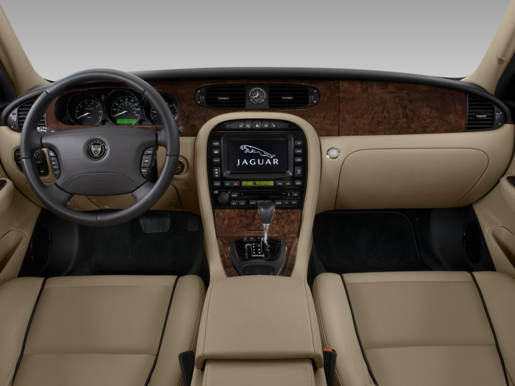 Image 2008 Jaguar Xj 4 Door Sedan Xjr Dashboard Size
