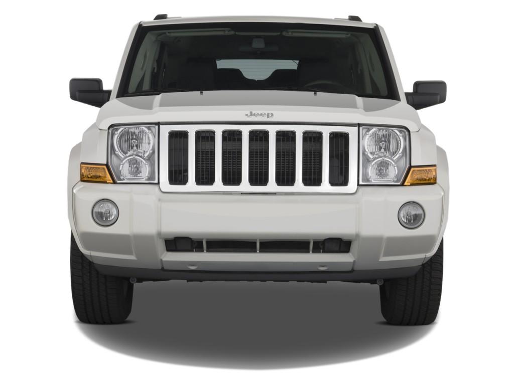 image 2008 jeep commander rwd 4 door sport front exterior. Black Bedroom Furniture Sets. Home Design Ideas