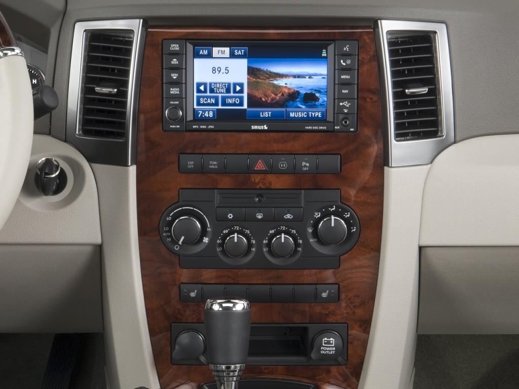 image 2008 jeep grand cherokee rwd 4 door overland. Black Bedroom Furniture Sets. Home Design Ideas