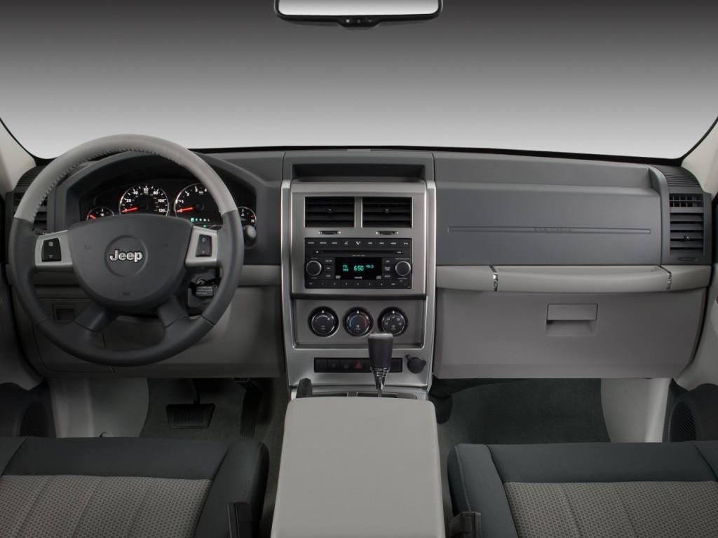 Image 2008 Jeep Liberty Rwd 4 Door Limited Dashboard