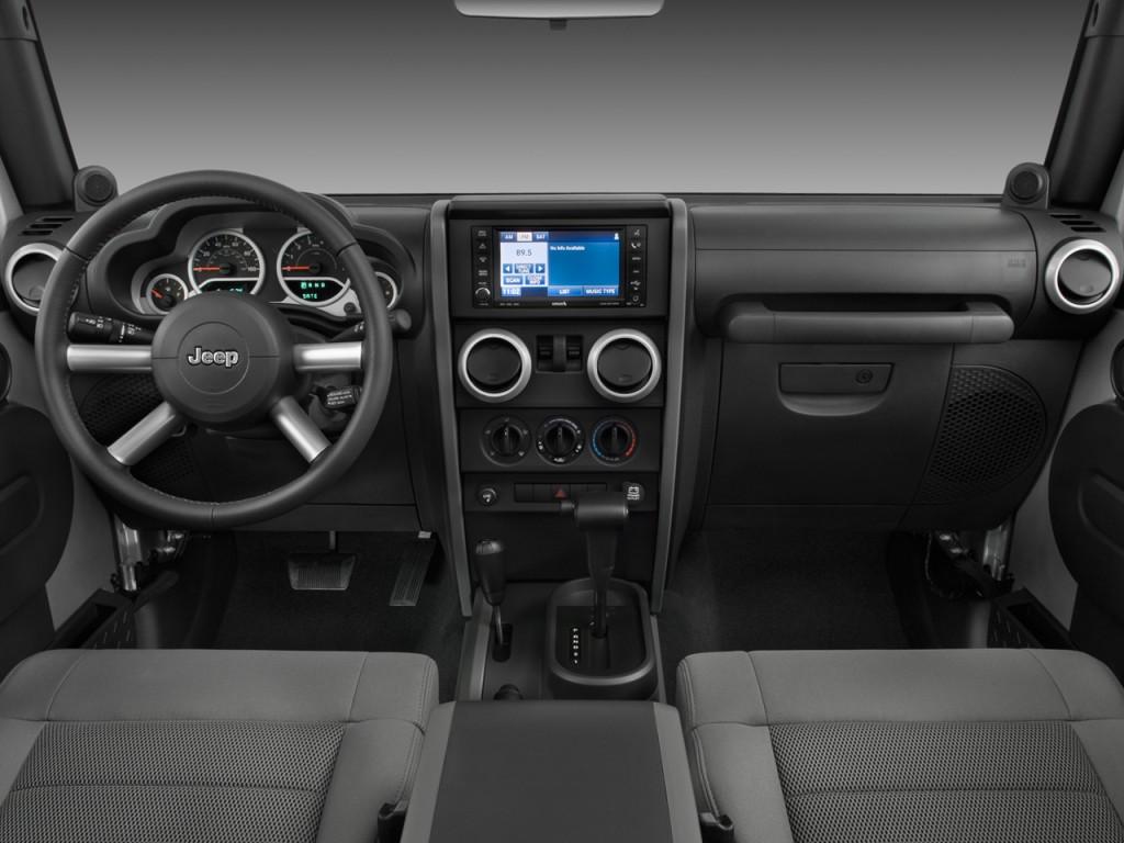 Jeep Renegade Lifted >> Image: 2008 Jeep Wrangler 4WD 2-door Sahara Dashboard ...