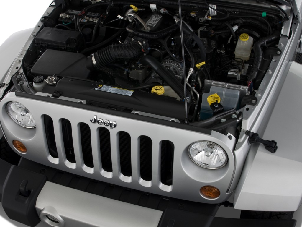 Image 2008 jeep wrangler 4wd 2 door sahara engine size for 2008 jeep wrangler motor