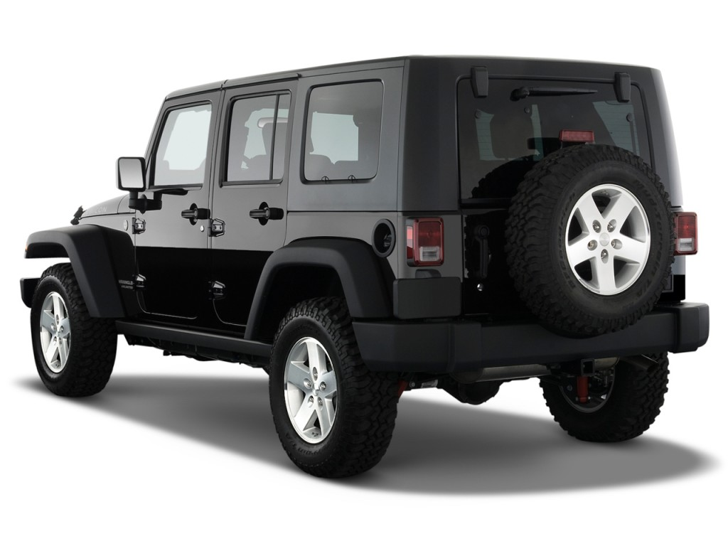 image 2008 jeep wrangler 4wd 4 door unlimited rubicon angular rear exterior view size 1024 x. Black Bedroom Furniture Sets. Home Design Ideas