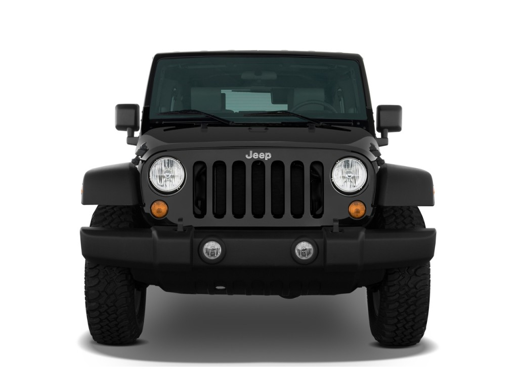 2008 Jeep Wrangler 4WD 4-door Unlimited Rubicon Front Exterior View